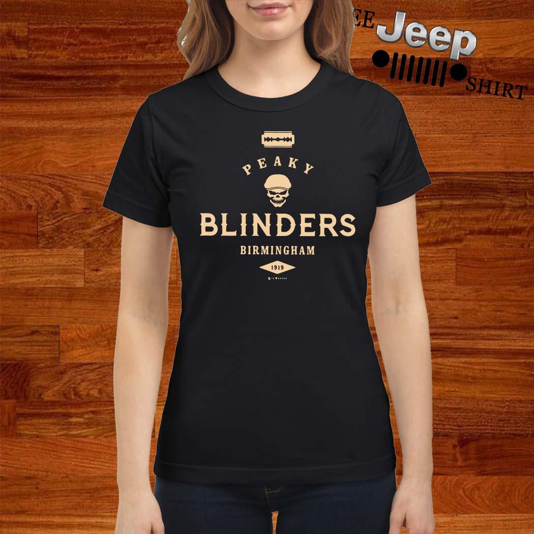 Peaky Blinders Birmingham Ladies Shirt