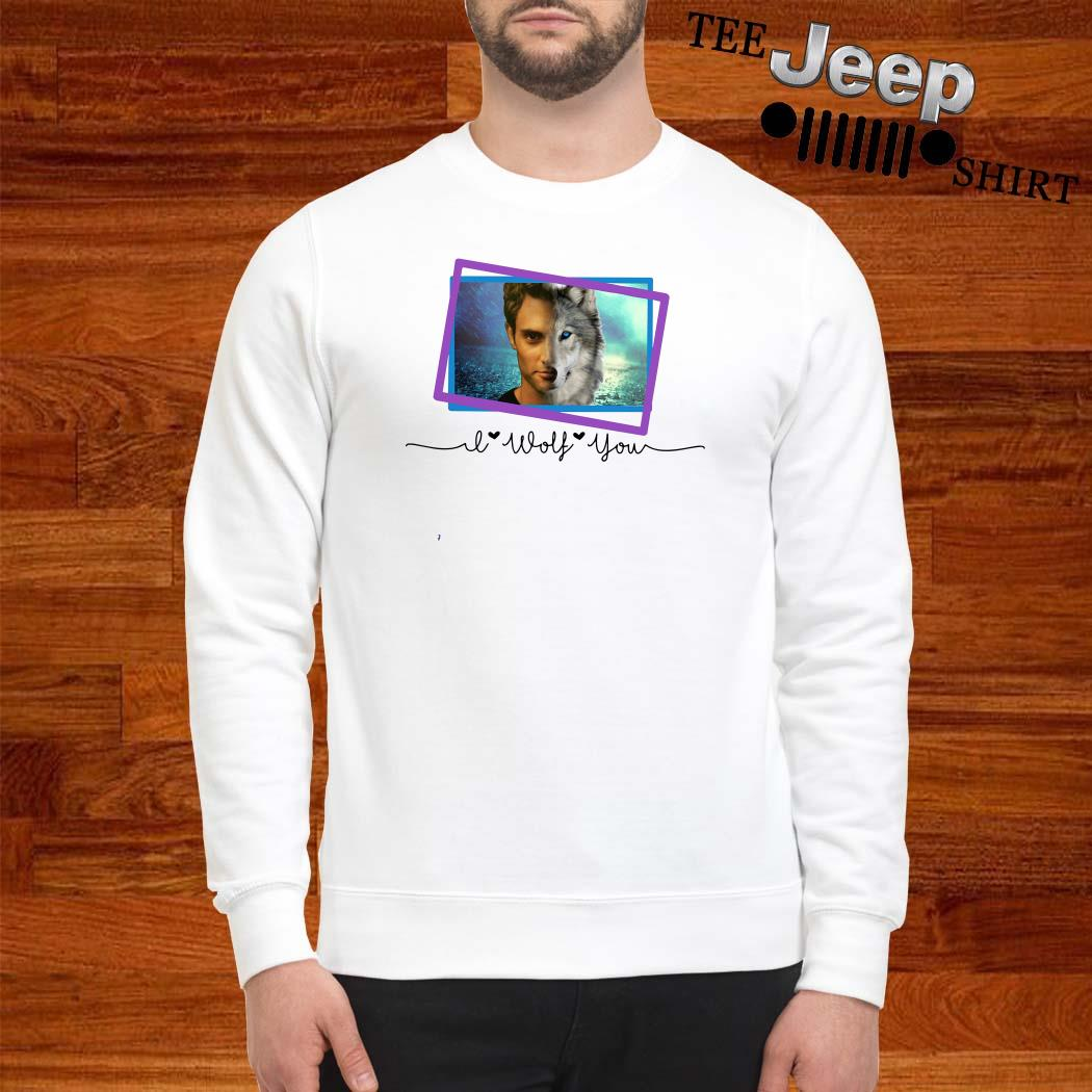 Penn Badgley I Wolf You Sweatshirt