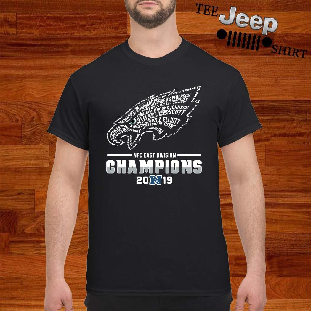 Philadelphia Eagles NFC East Division Champions 2019 Shirt