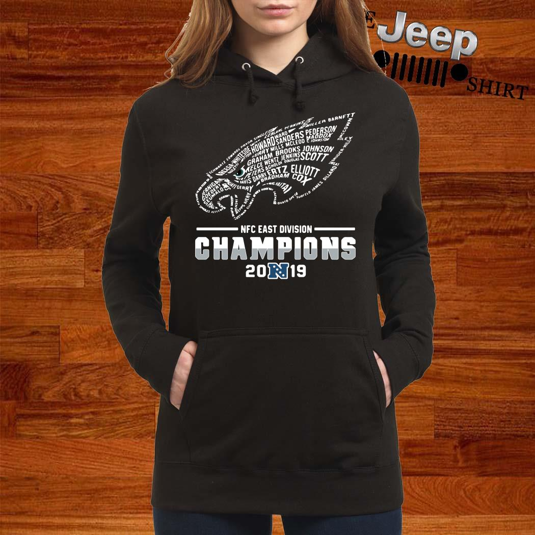 Philadelphia Eagles NFC East Division Champions 2019 Hoodie