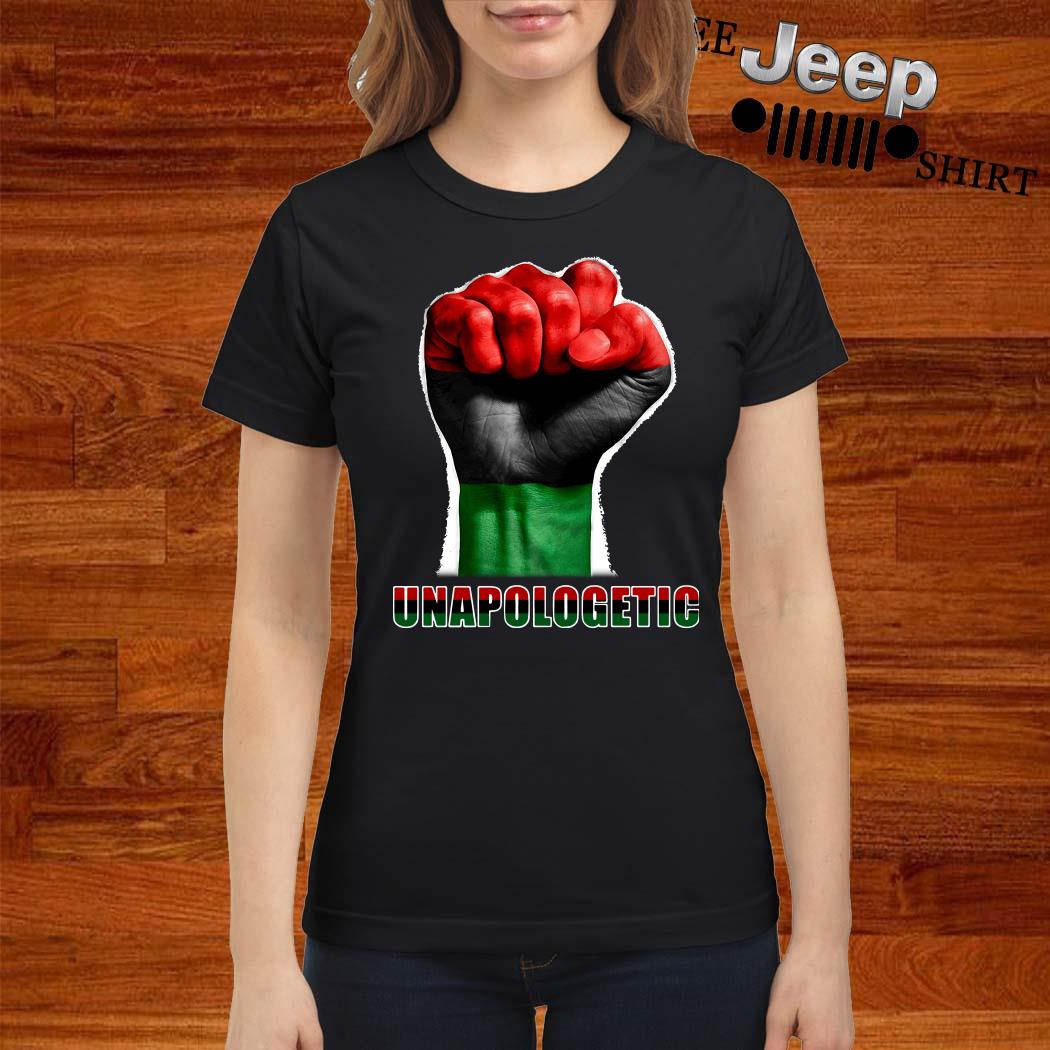 Punch Unapologetic Ladies Shirt