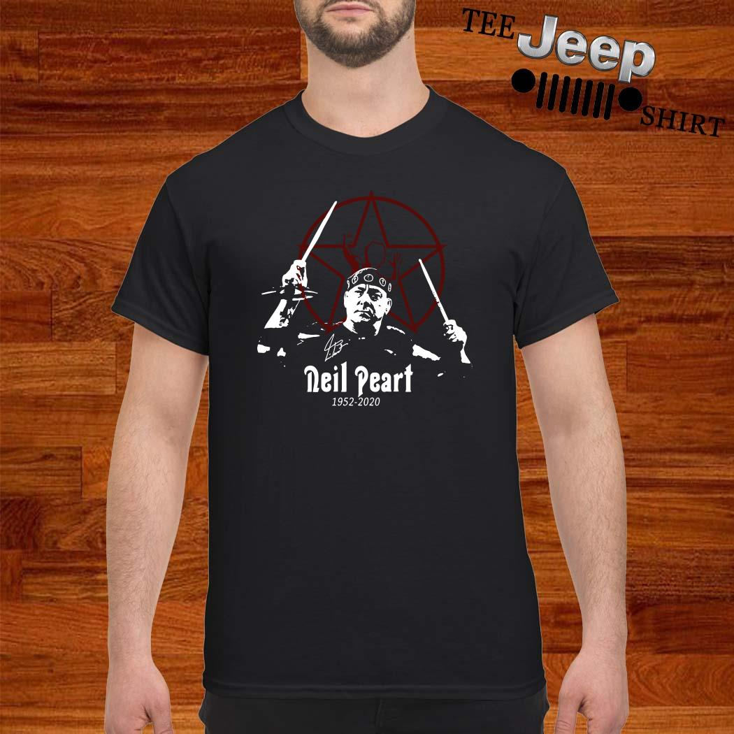 R.I.P Neil Peart 1952 2020 Signature Shirt