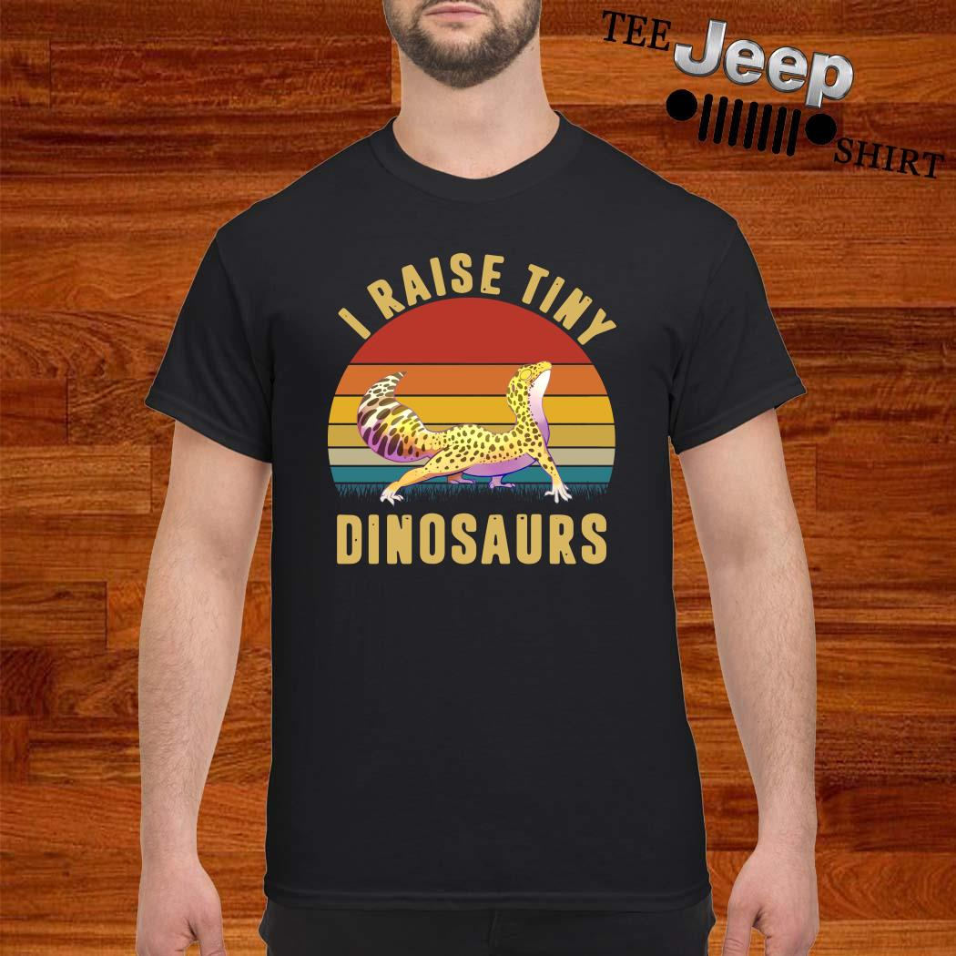 I Raise Tiny Dinosaurs Vintage Shirt