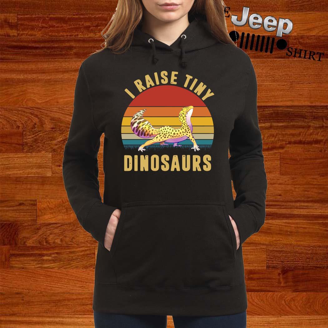 I Raise Tiny Dinosaurs Vintage Hoodie