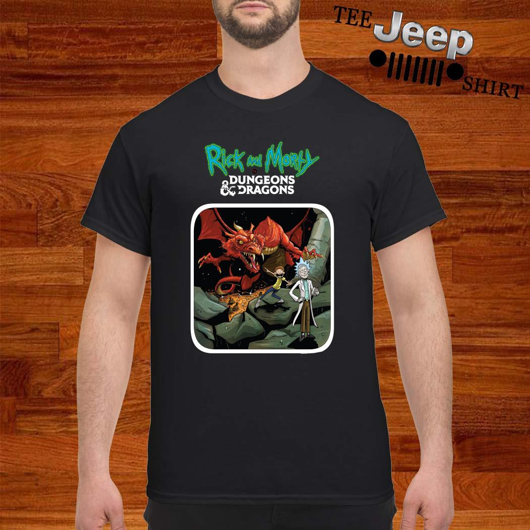 Rick And Morty Vs Dungeons And Dragons Shirt