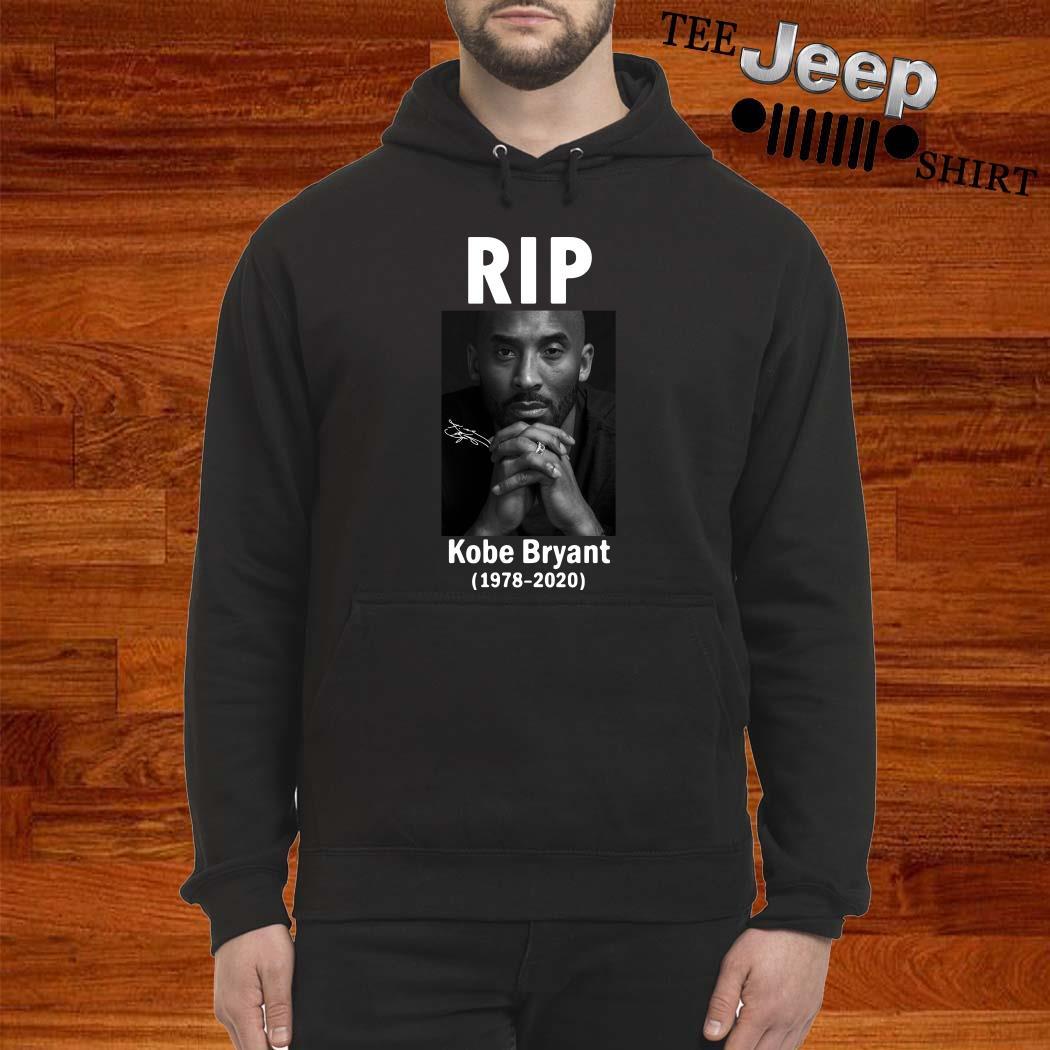 RIP Kobe Bryant 1978 2020 Signature Hoodie