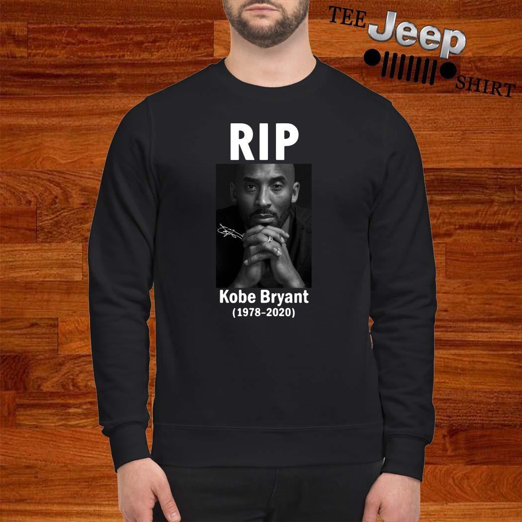 RIP Kobe Bryant 1978 2020 Signature Sweater