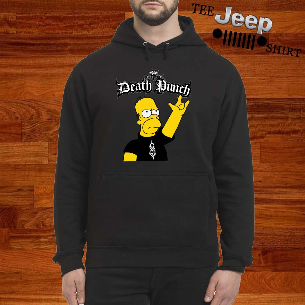 The Simpsons Five Finger Death Punch Hoodie