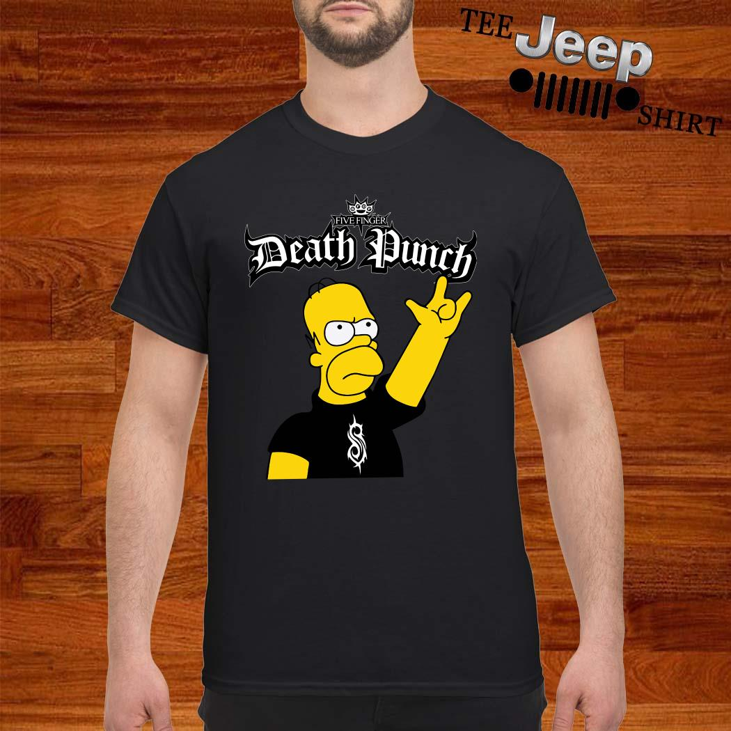 The Simpsons Five Finger Death Punch Shirt