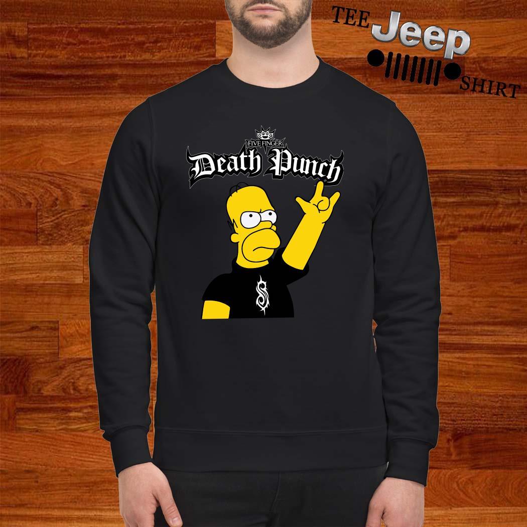 The Simpsons Five Finger Death Punch Sweatshirt
