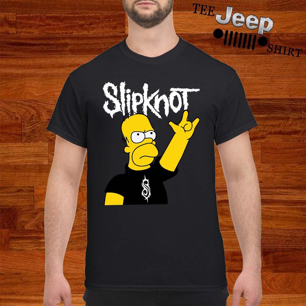 The Simpsons Slipknot Shirt