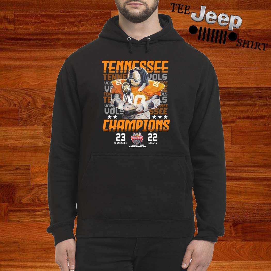 Tennessee Volunteers Champions Taxslayer Hoodie