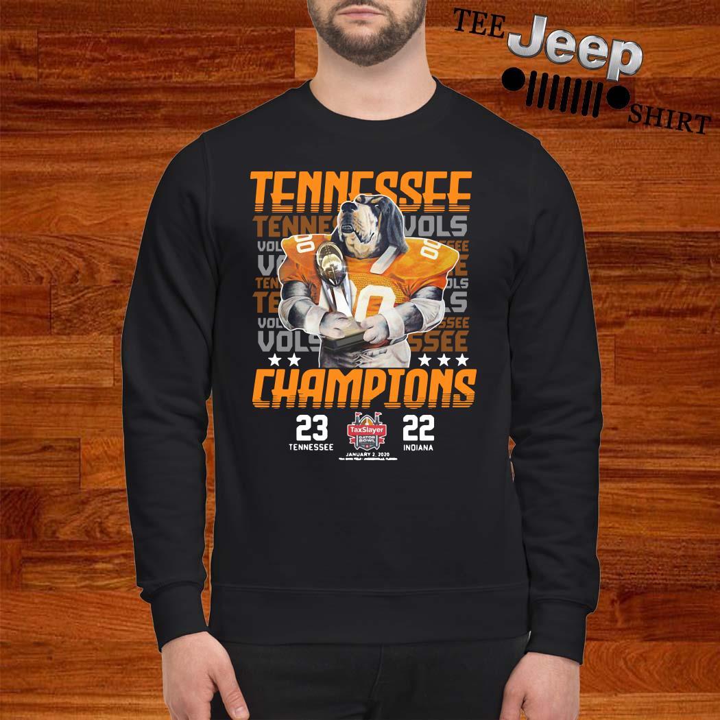 Tennessee Volunteers Champions Taxslayer Sweatshirt