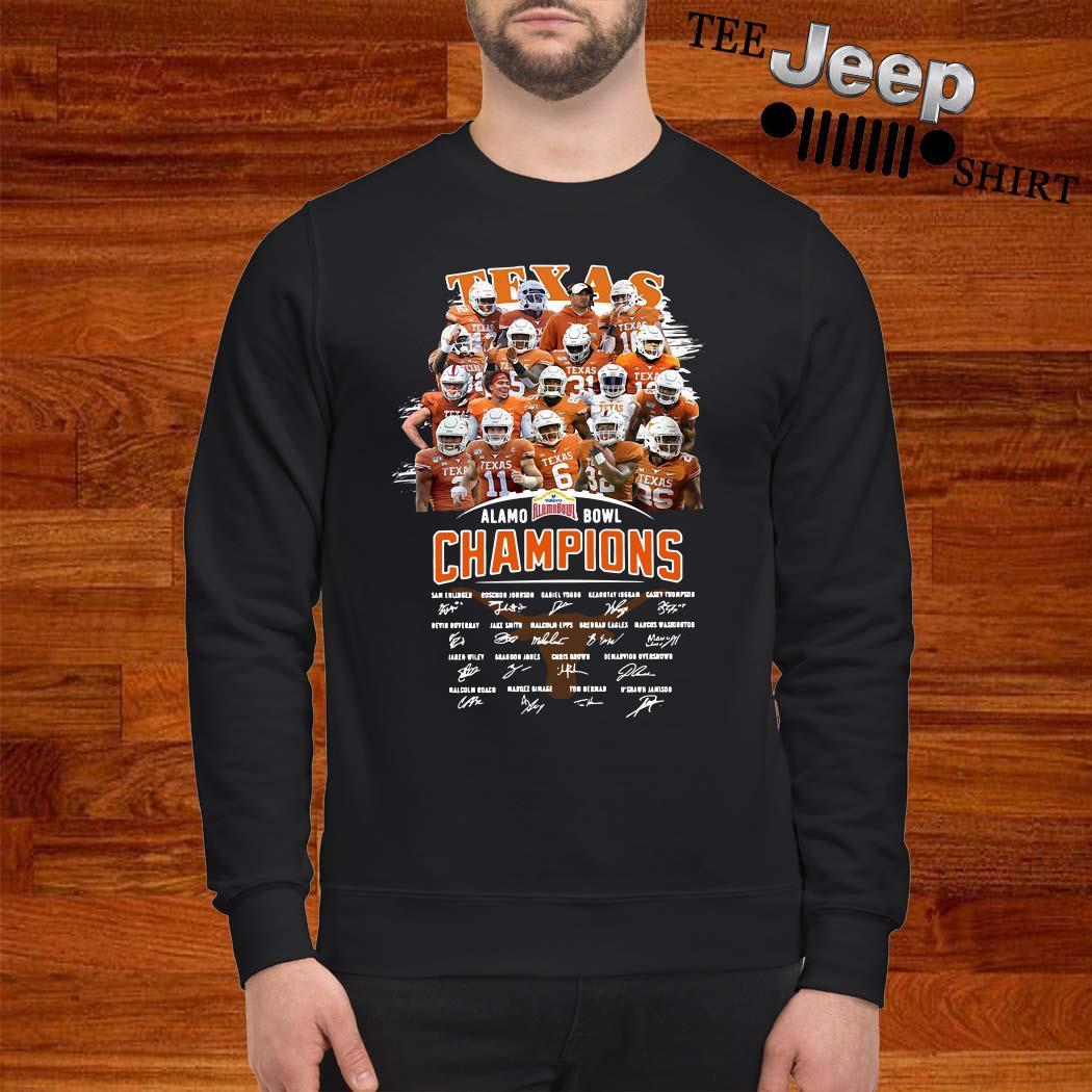 Texas Alamo Bowl Champions Signature Sweater
