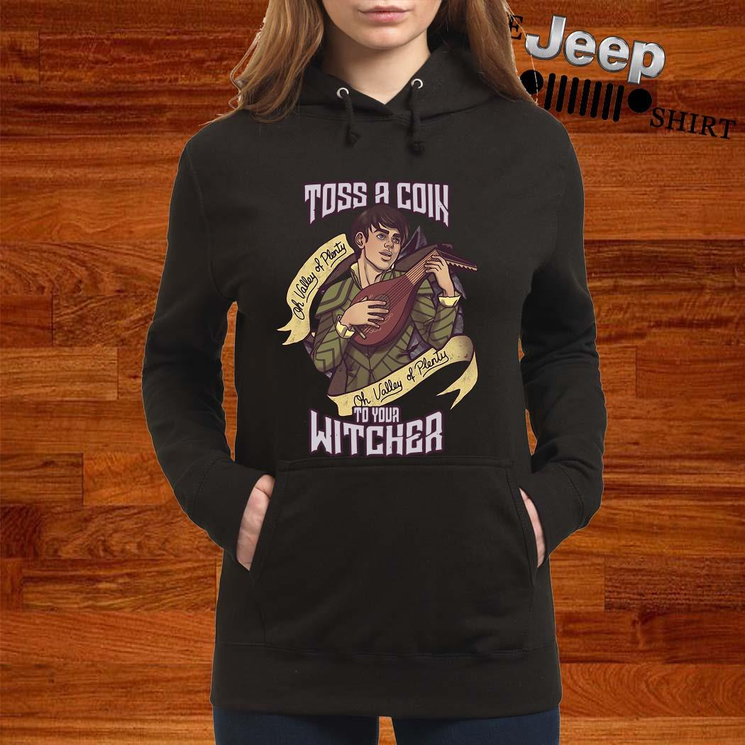 Toss A Coin To Your Witcher Hoodie