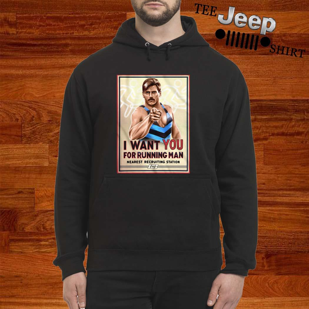 I Want You For Running Man Nearest Recruiting Station Hoodie