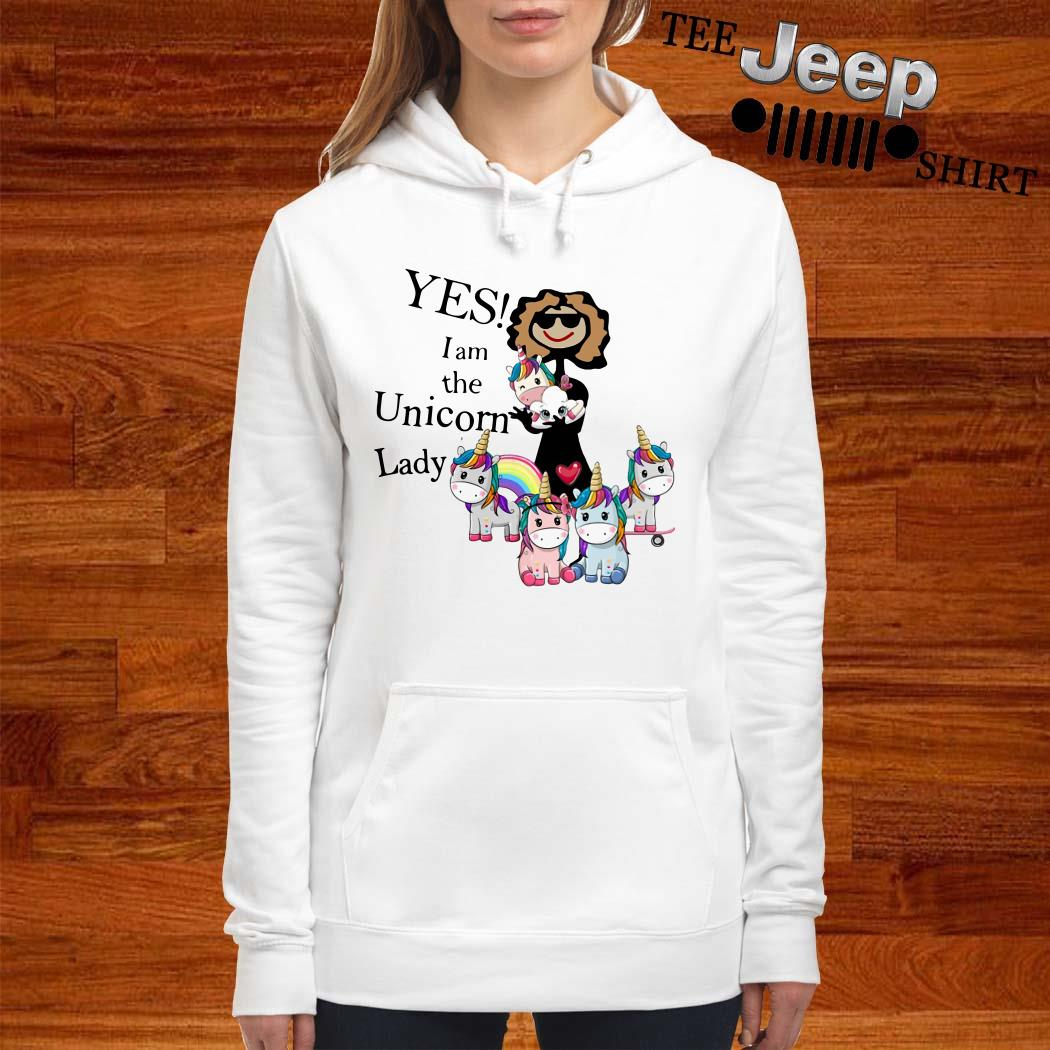 Yes I Am The Unicorn Lady Hoodie