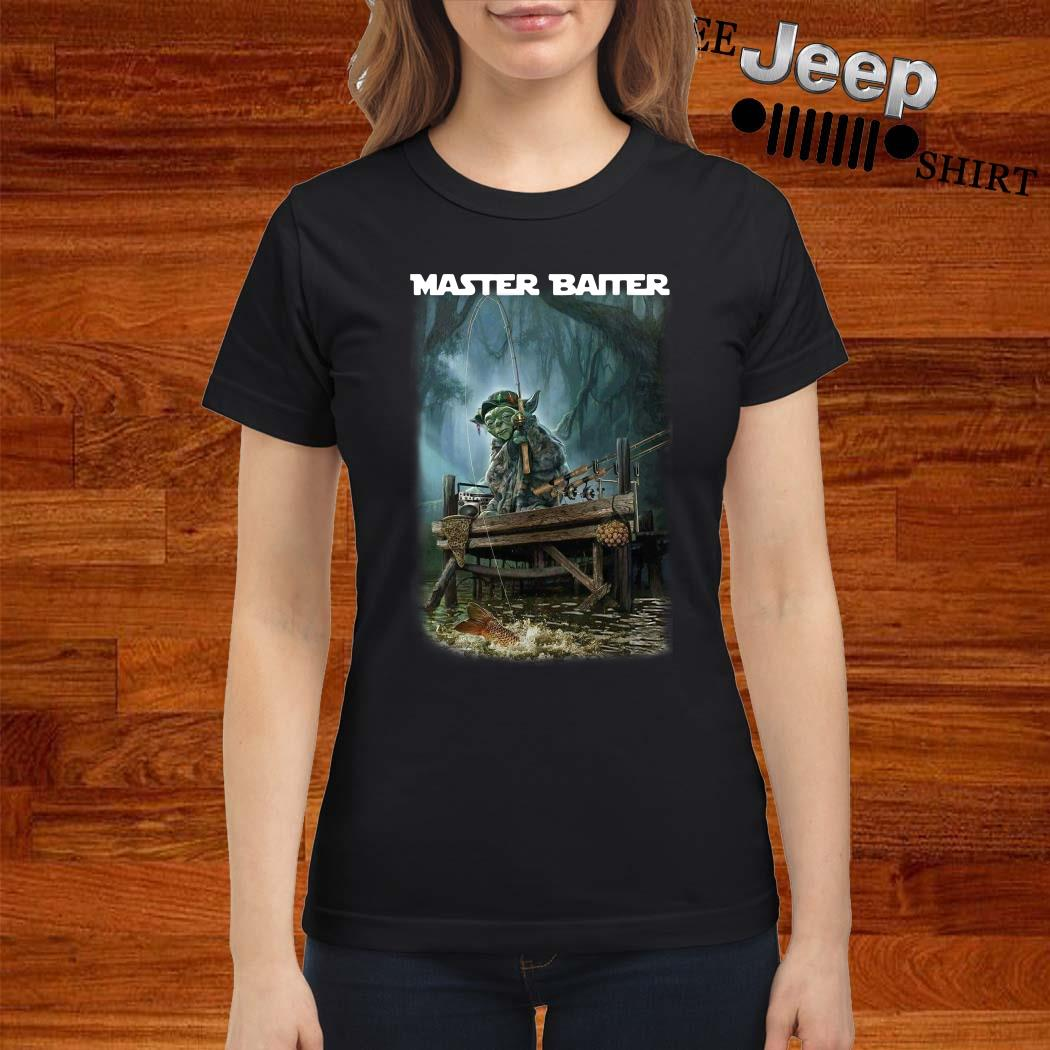 Yoda Fishing Master Baiter Ladies Shirt