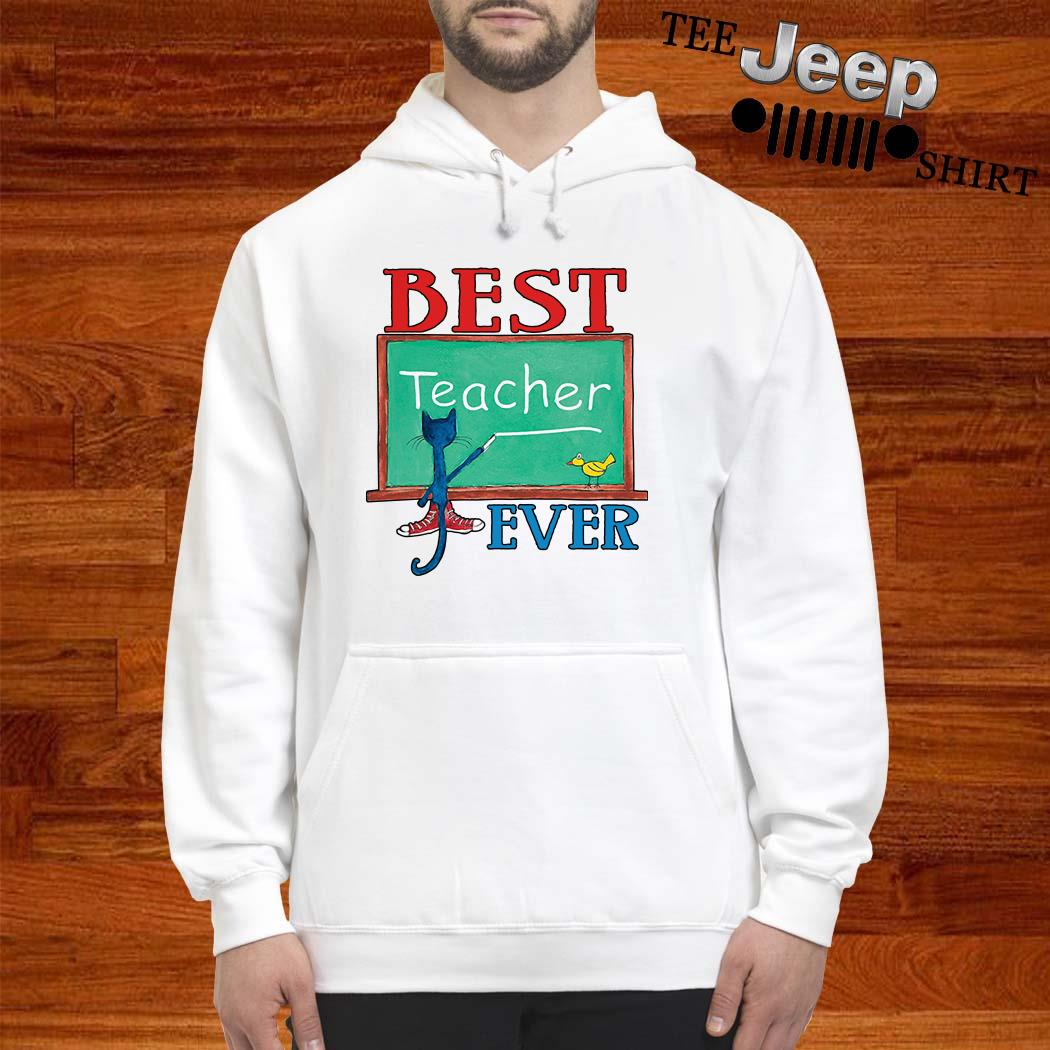 Cat Best Teacher Ever Hoodie
