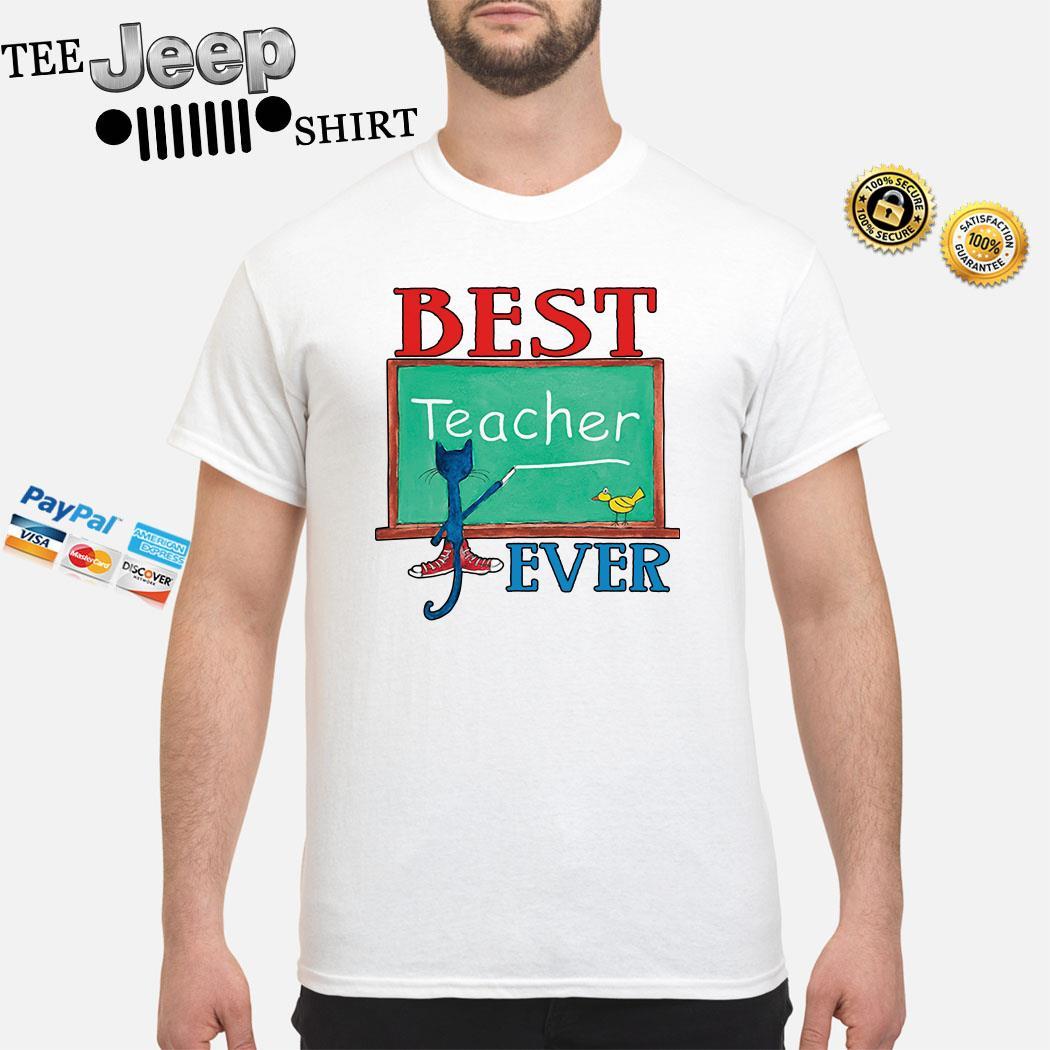 Cat Best Teacher Ever Shirt