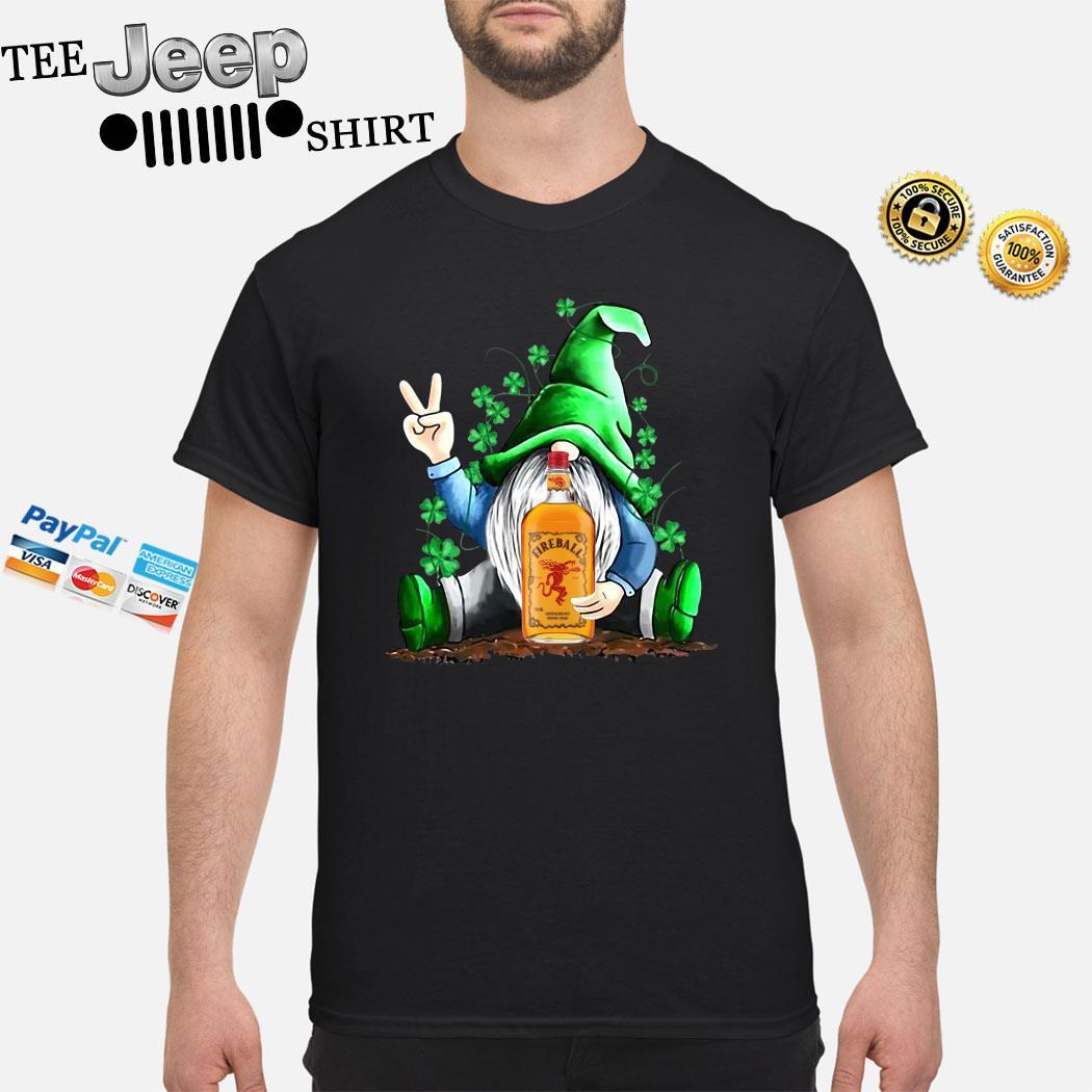 Gnomes Lucky Hug Fireball Shirt