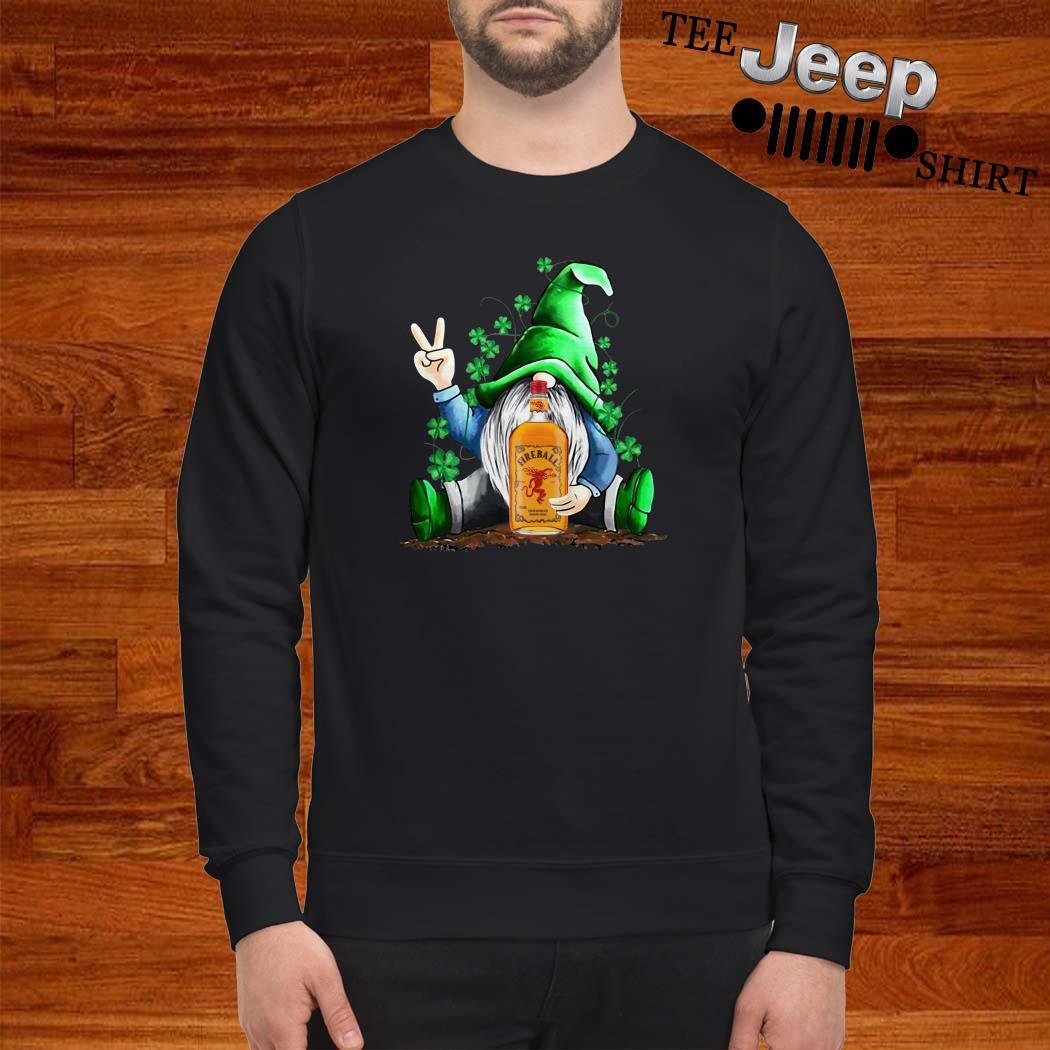 Gnomes Lucky Hug Fireball Sweatshirt