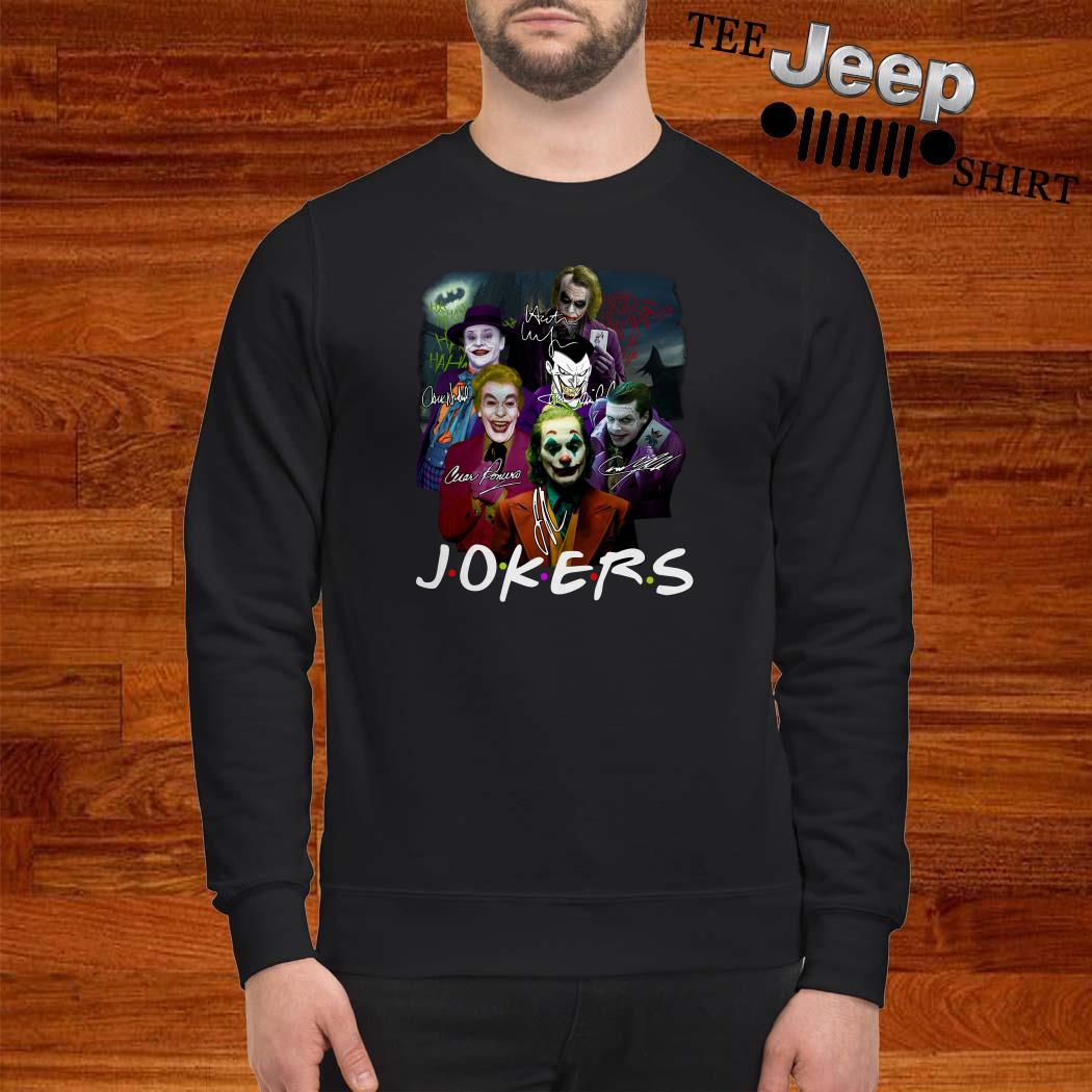 Jokers Friends All Version Signatures Sweatshirt