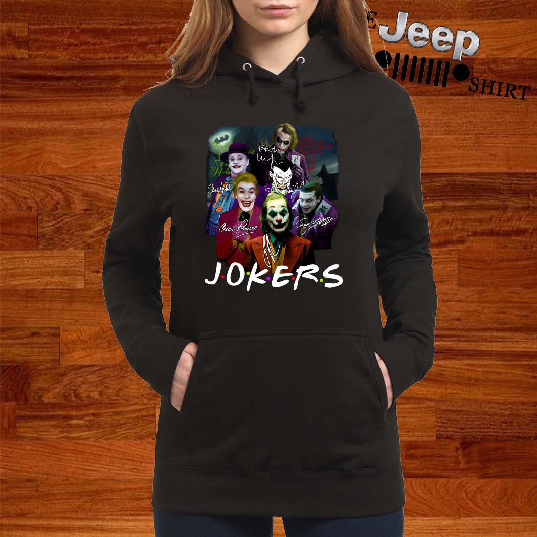 Jokers Friends All Version Signatures Hoodie