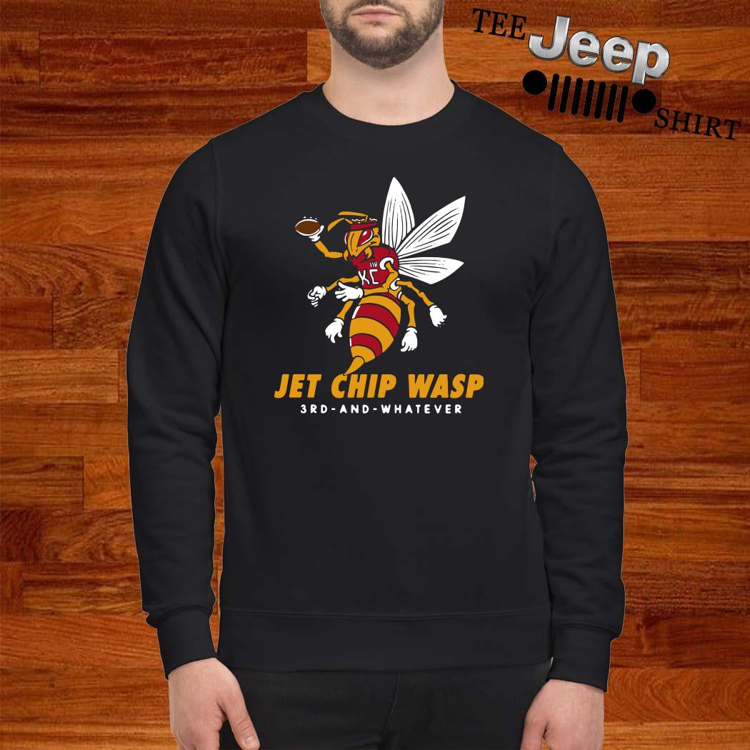 Kansas City Chiefs Jet Chip Wasp 3rd And Whatever Sweatshirt