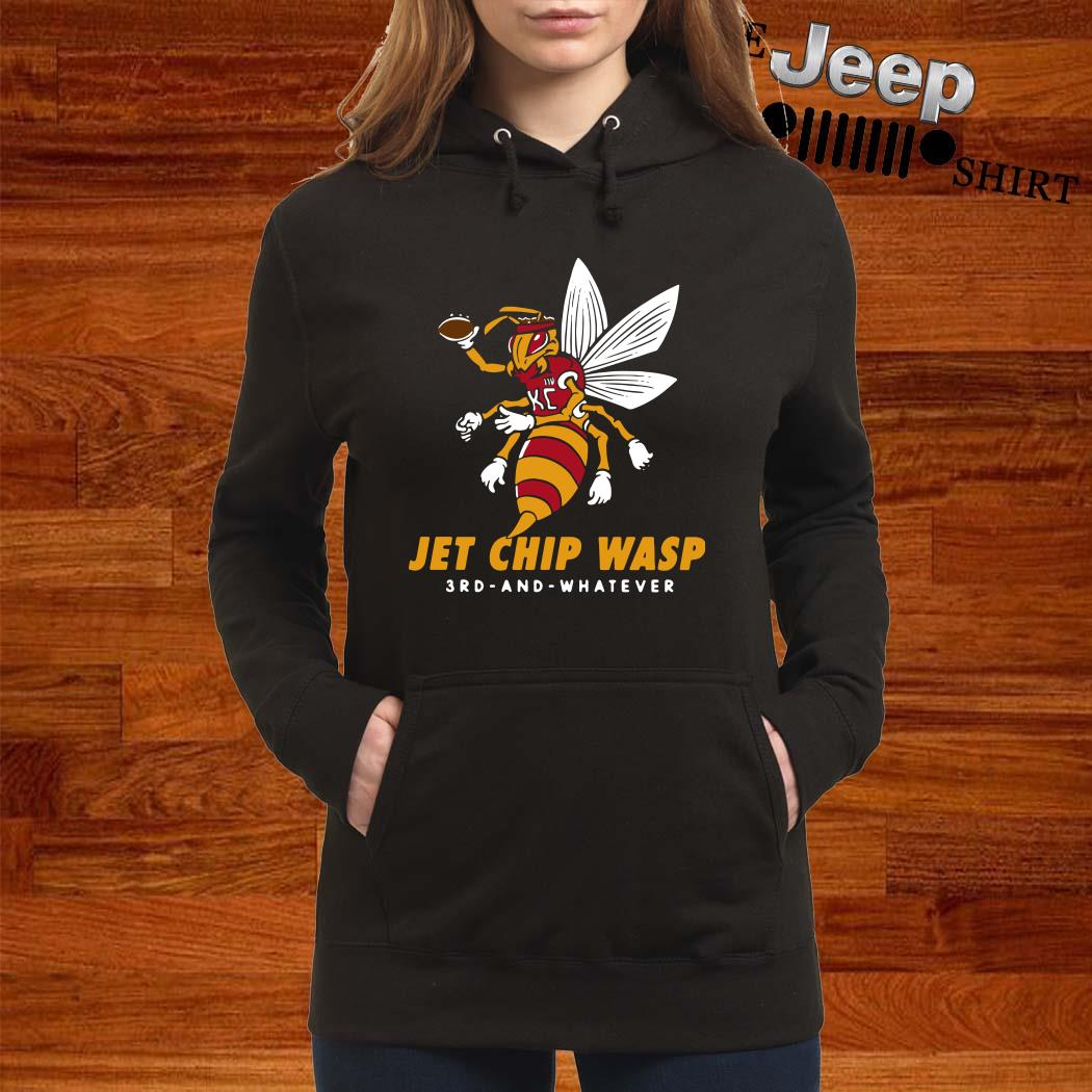 Kansas City Chiefs Jet Chip Wasp 3rd And Whatever Hoodie