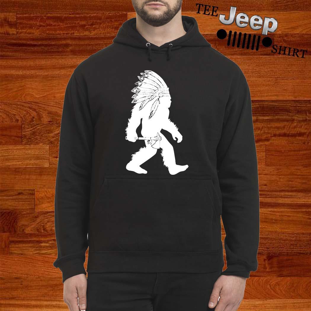 Native American Bigfoot Hoodie