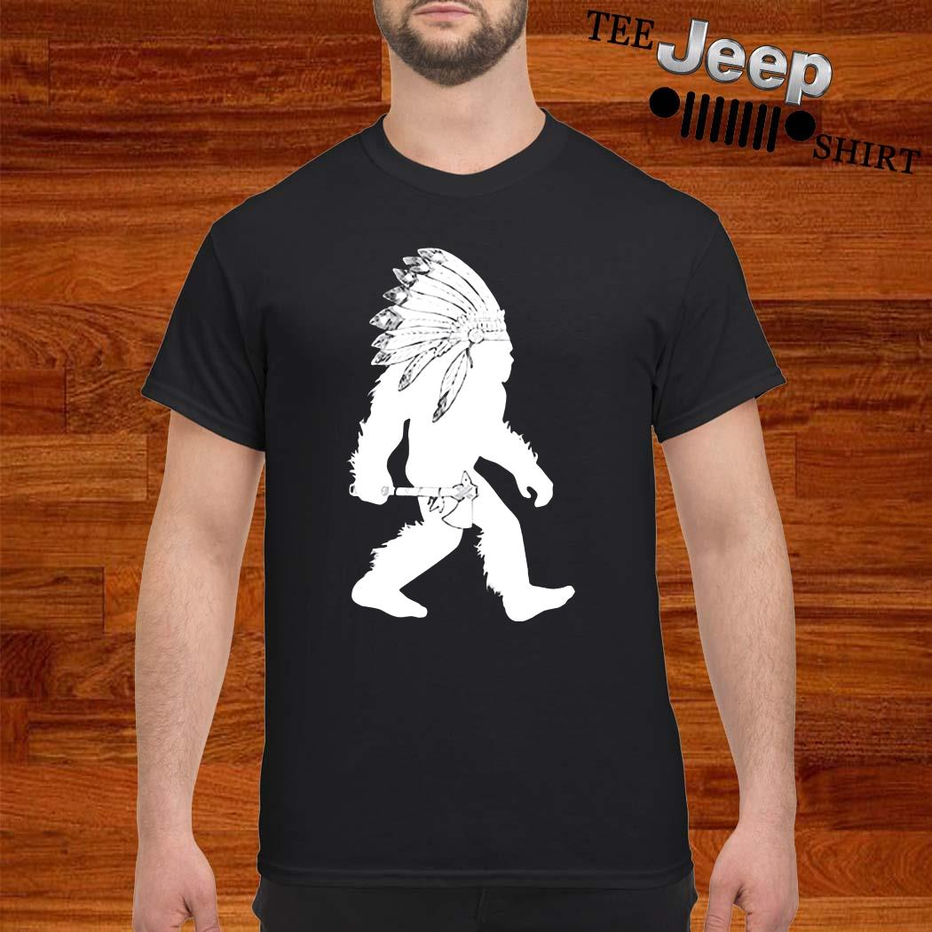 Native American Bigfoot Shirt