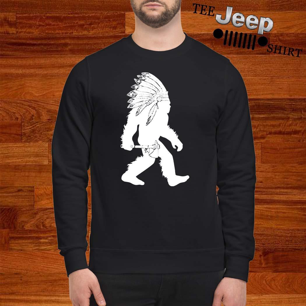 Native American Bigfoot Sweatshirt