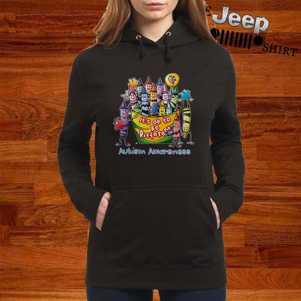 It's Ok To Be Different Autism Awareness Hoodie