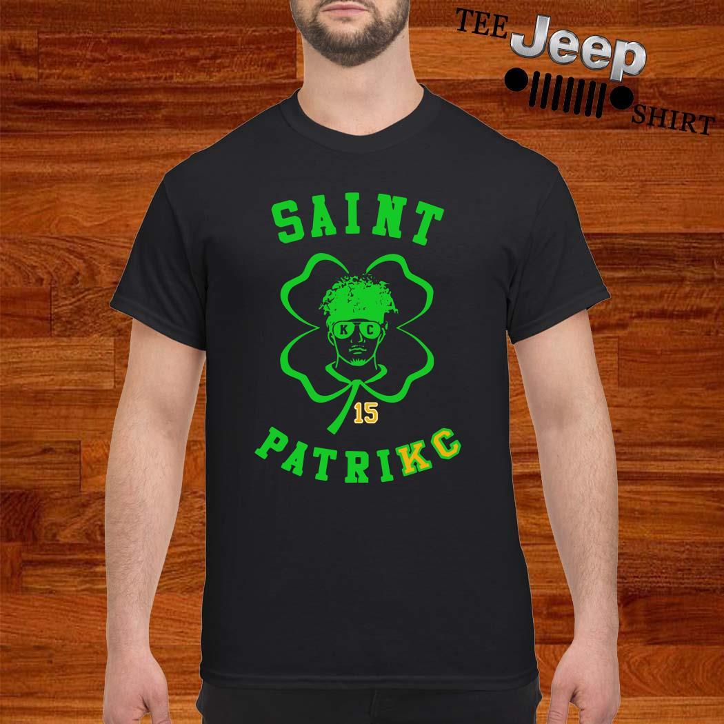 Patrick Mahomes 15 Saint Patrick Shirt