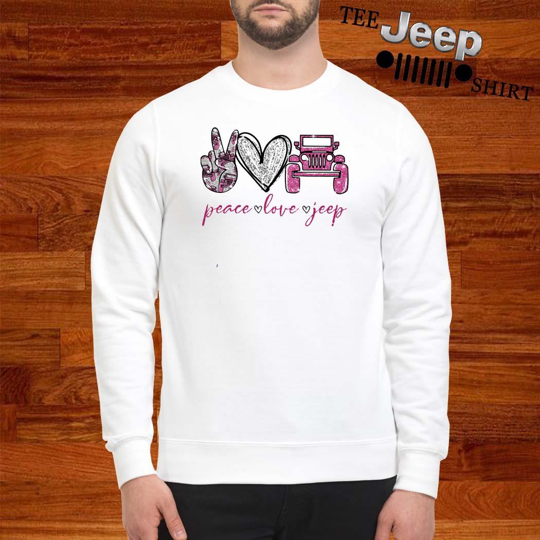 Peace Love Jeep Sweatshirt