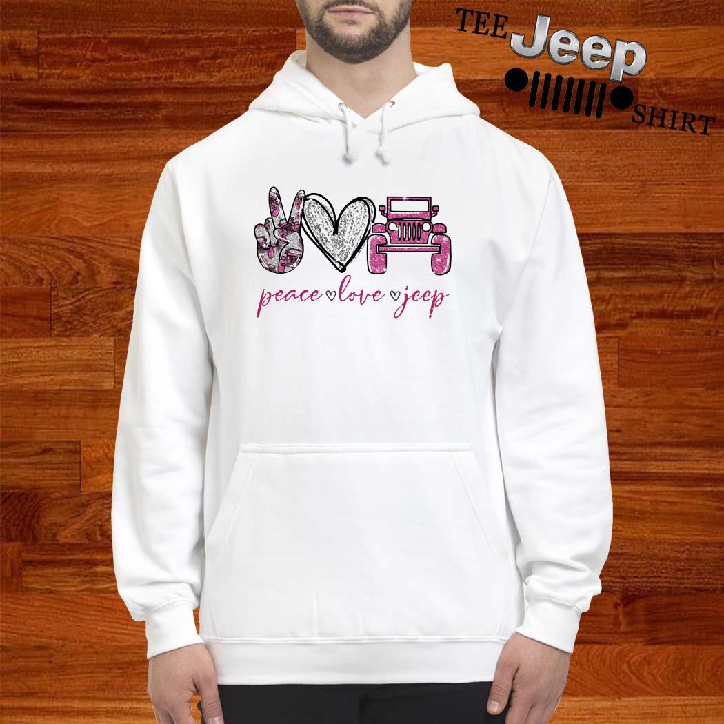 Peace Love Jeep Hoodie