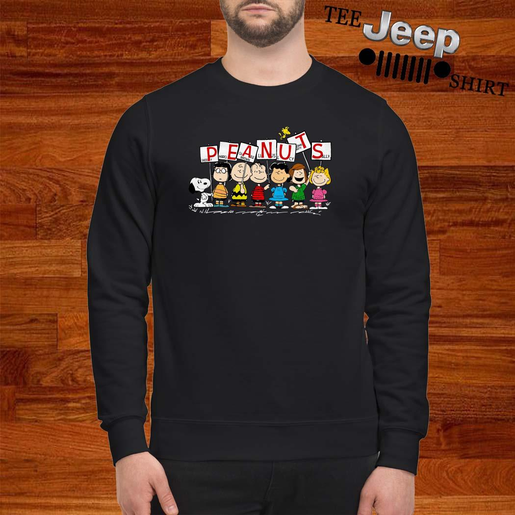 Peanuts Snoopy Marcie Charlie Brown Linus Lucy Peppermint Patty Sally Sweatshirt