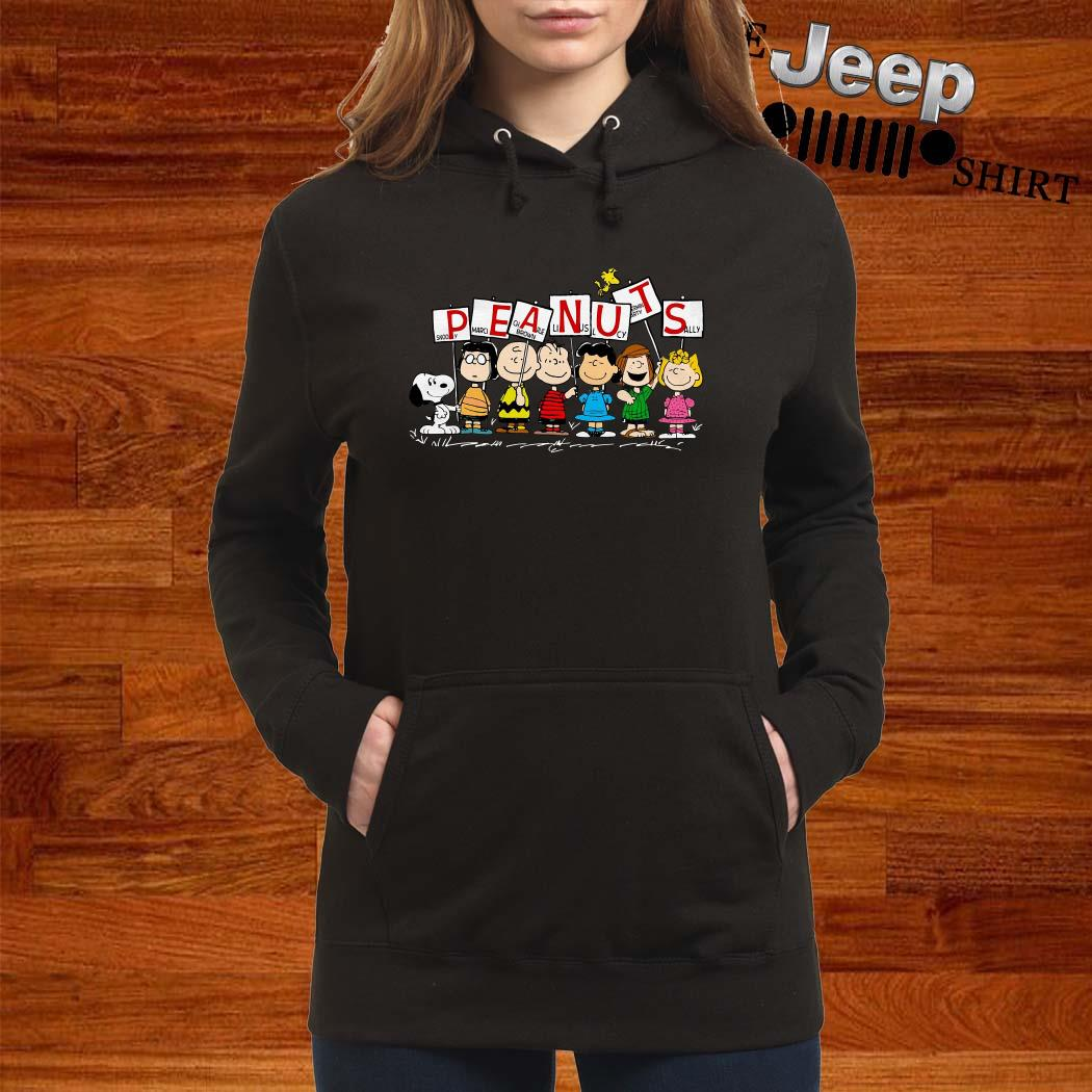Peanuts Snoopy Marcie Charlie Brown Linus Lucy Peppermint Patty Sally Hoodie