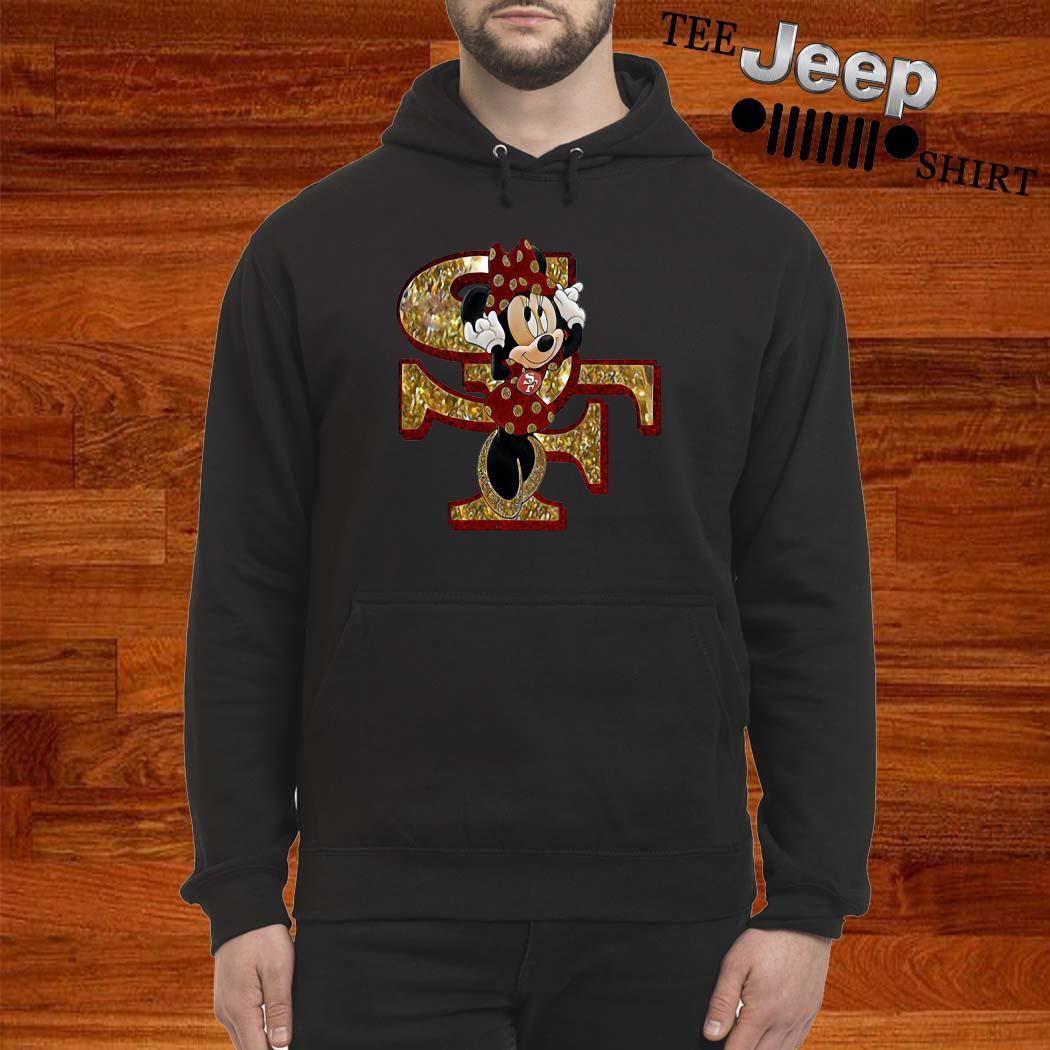 San Francisco 49ers Minnie Mouse Hoodie