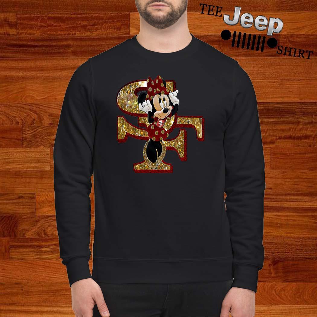 San Francisco 49ers Minnie Mouse Sweatshirt