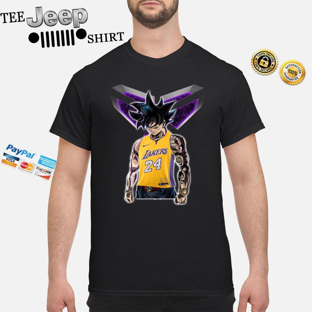 Songoku Ultra Instinct Kobe Bryant Lakers 24 Shirt