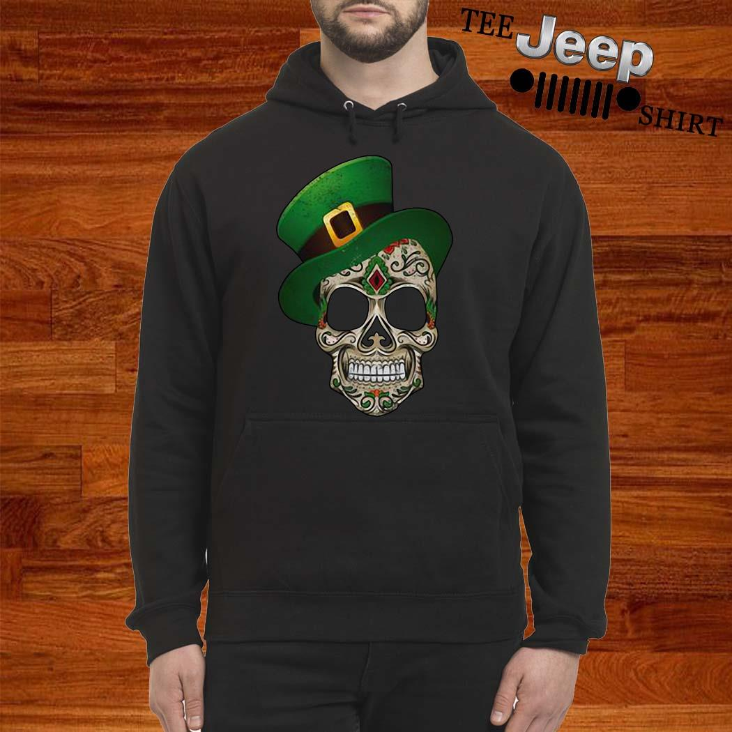 Sugar Skull St Patrick's Day Hoodie