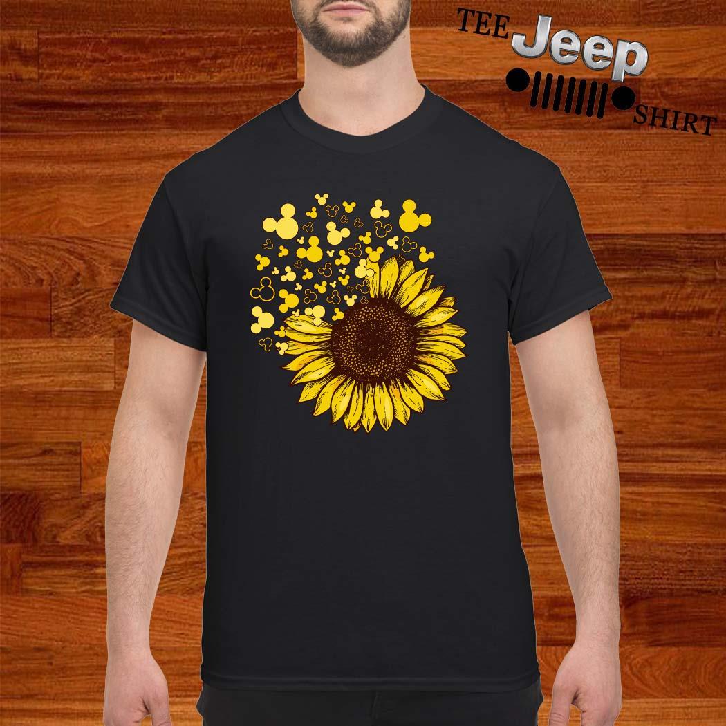 Sunflower Mickey Head Shirt