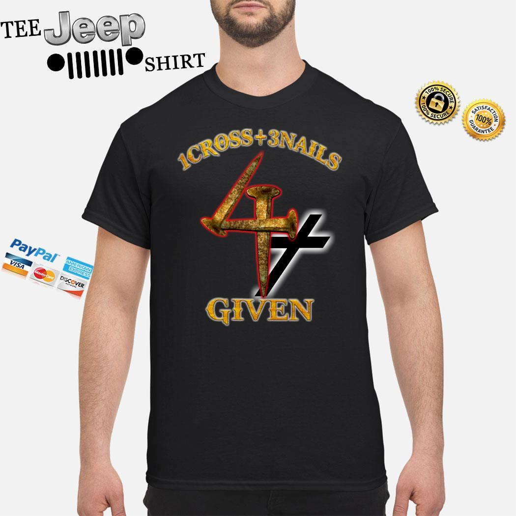 1cross + 3nails Give Shirt