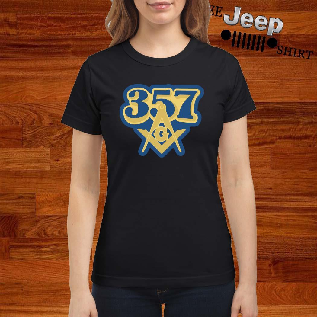 357 Freemasonry Logo Ladies Shirt