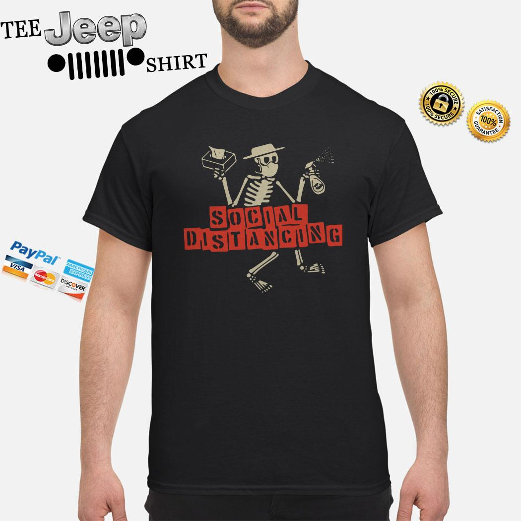 Skeleton Social Distancing Shirt