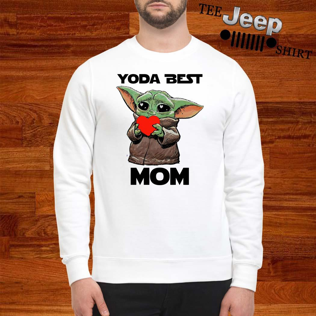 Baby Yoda Best Mom Sweatshirt