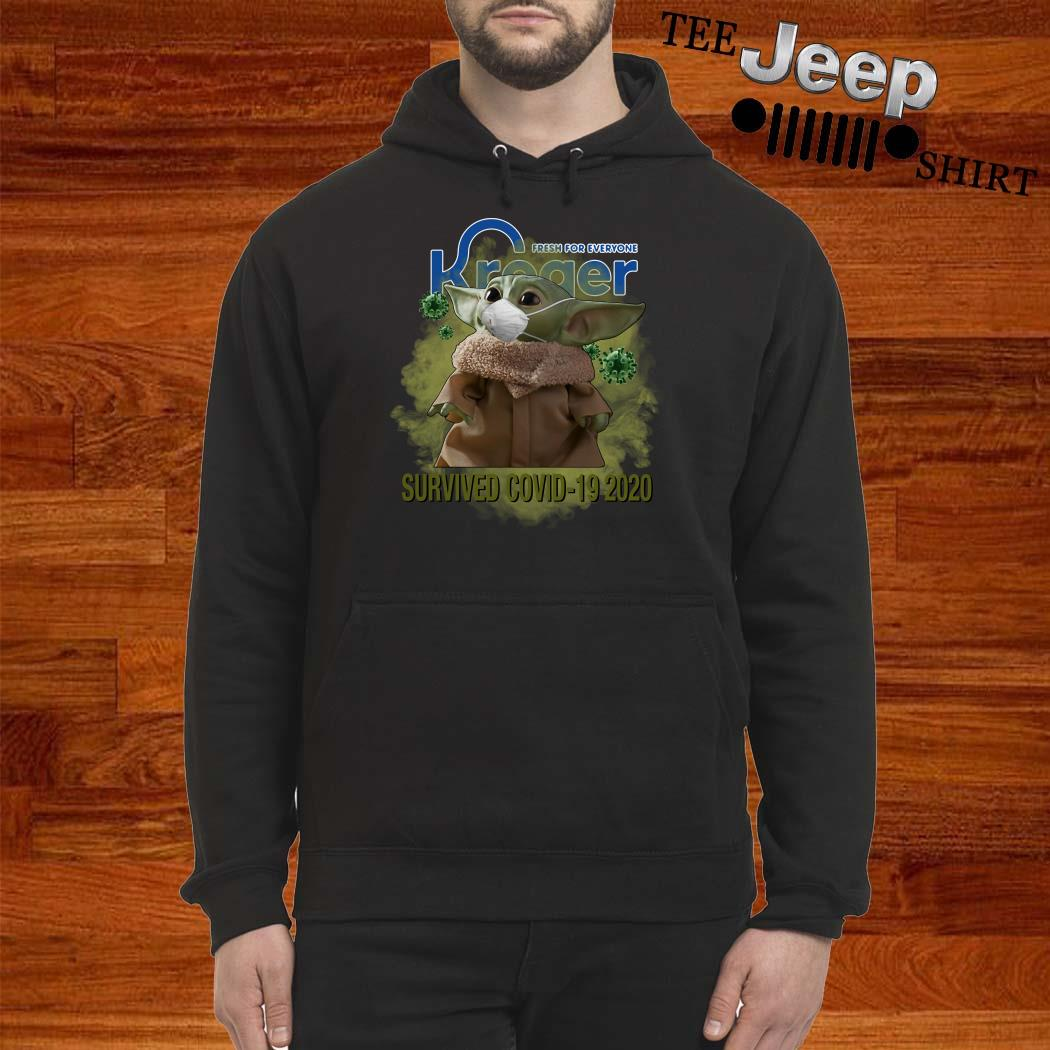 Baby Yoda Fresh For Everyone Kroger Survived Covid-19 2020 Hoodie