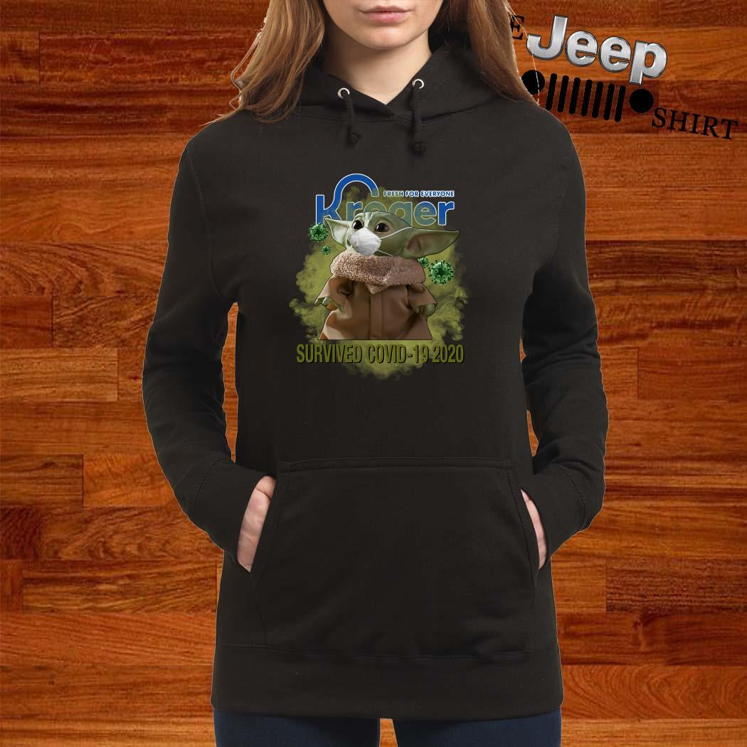 Baby Yoda Fresh For Everyone Kroger Survived Covid-19 2020 Women Hoodie